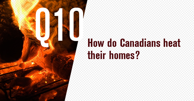 How do Canadians heat their homes?