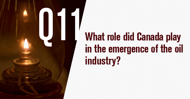 What role did Canada play in the emergence of the oil industry?