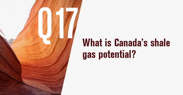 What is Canada's shale gas potential?