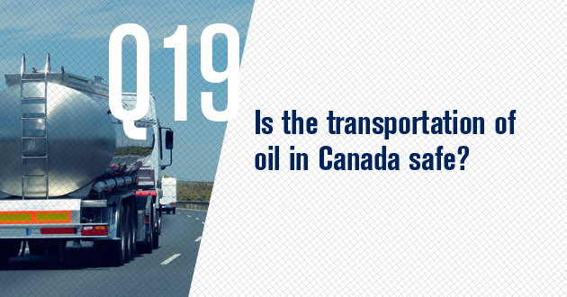 Is the transportation of oil in Canada safe?