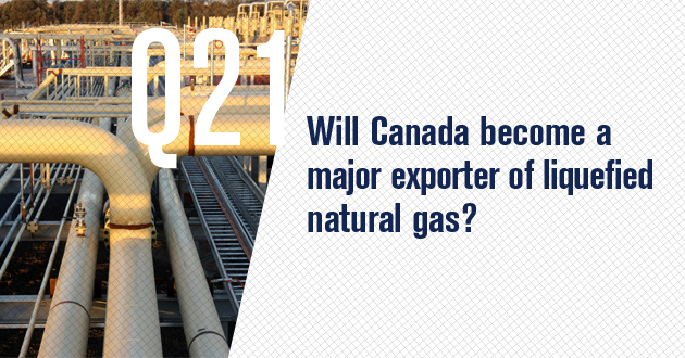 Will Canada become a major exporter of liquefied natural gas?