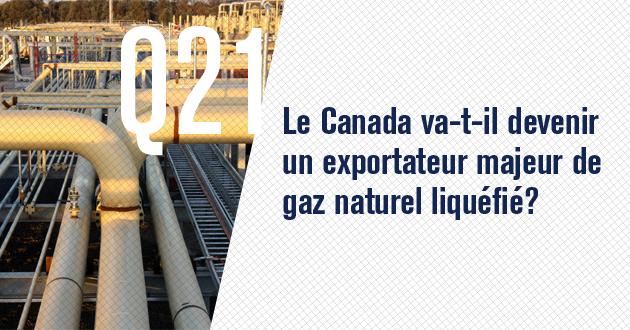 Le Canada va-t-il devenir un exportateur majeur de gaz naturel liquefie?
