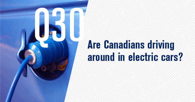 Are Canadians running on electricity?