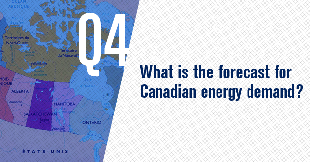 What is the forecast for Canadian energy demand?