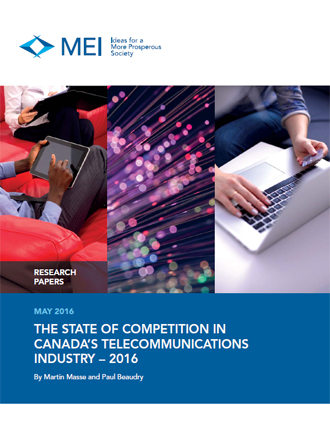The State of Competition in Canada's Telecommunications Industry – 2016