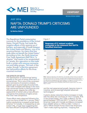 Viewpoint – NAFTA: Donald Trump's Criticisms Are Unfounded