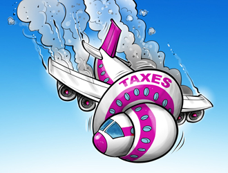 Air Transport: High Taxes and Fees Penalize Travellers