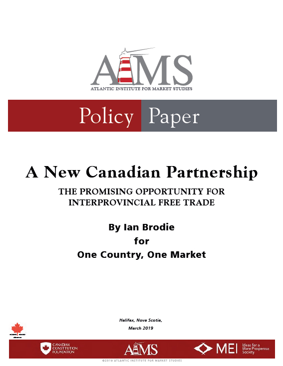 A New Canadian Partnership: The Promising Opportunity for Interprovincial Free Trade