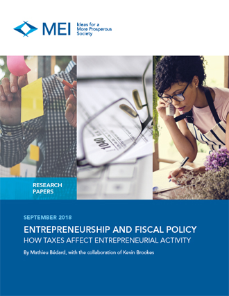 Entrepreneurship and Fiscal Policy – How Taxes Affect Entrepreneurial Activity