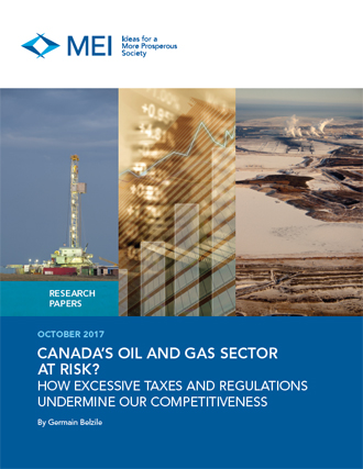 Canada's Oil and Gas Sector at Risk? How Excessive Taxes and Regulations Undermine Our Competitiveness