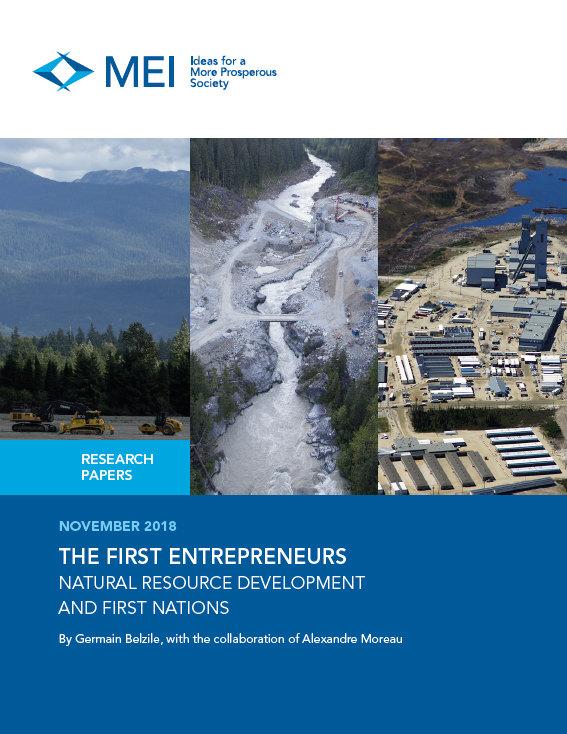 The First Entrepreneurs – Natural Resource Development and First Nations