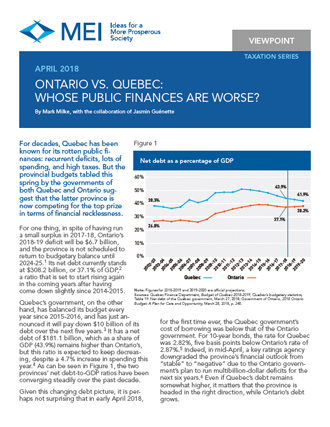 Ontario vs. Quebec: Whose Public Finances Are Worse?