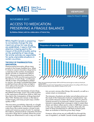 Viewpoint – Access to Medication: Preserving a Fragile Balance