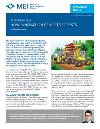 How Innovation Benefits Forests